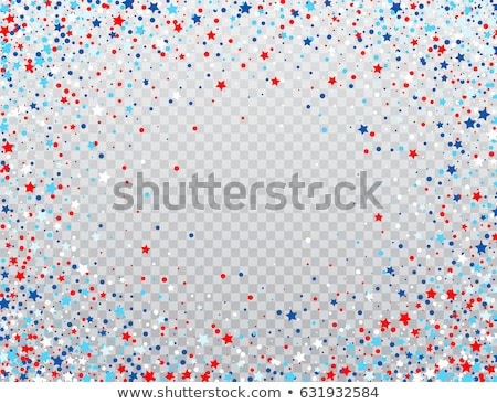 vector 4th of july america flag Stock photo © Pinnacleanimates