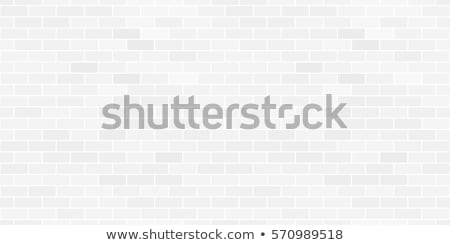 Bricklayer checking brick wall Stock photo © photography33