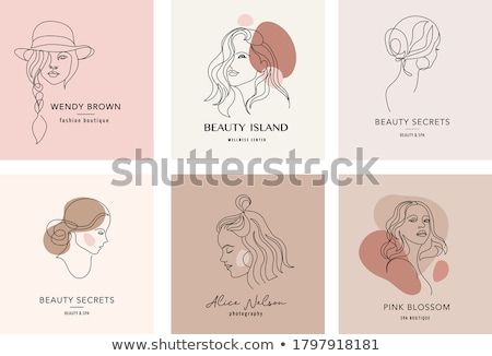 小さな 女性 ブロンド 髪 茶色の目 笑顔 ストックフォト © vlad_podkhlebnik
