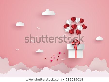 любви подарки сердце настоящее мелкий Сток-фото © danielgilbey