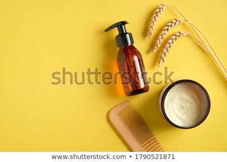 Combing Wheat Stock photo © pictureguy