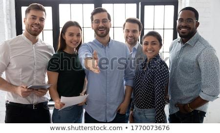 portrait of a male executive and his colleague stock photo © wavebreak_media