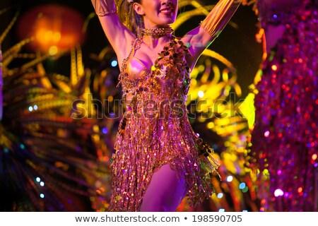 キャバレー · ダンサー · かなり · セクシー · エキゾチック - ストックフォト © urchenkojulia