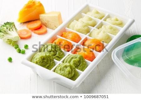 Ice cube and potato stock photo © Givaga