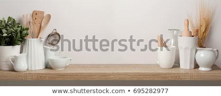 Wood Kitchen Utensil Stock photo © zhekos