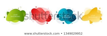 красочный четыре цветами набор круга Сток-фото © liliwhite