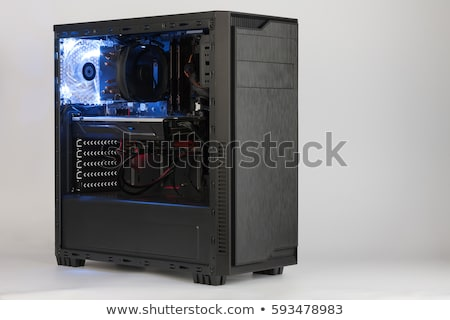 Computer chassis/CPU cooler Stock photo © ozaiachin