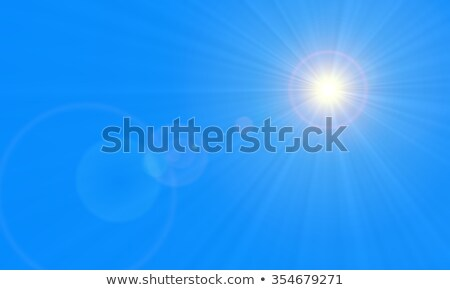 easter nature background with lens flare stock photo © smeagorl