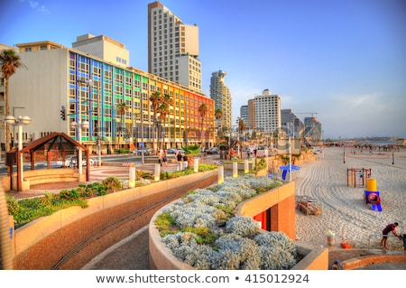 Tel Aviv Beach Stock photo © vaeenma
