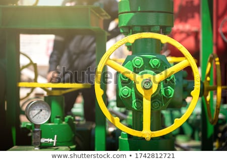 industrial pipelines and valves Stock photo © ultrapro