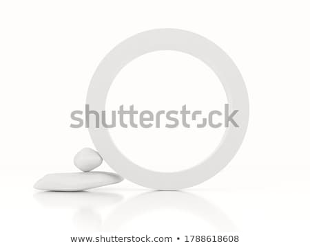 stone shapes against white stock photo © robertosch