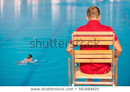 Lifeguards Only Stock photo © chrisbradshaw