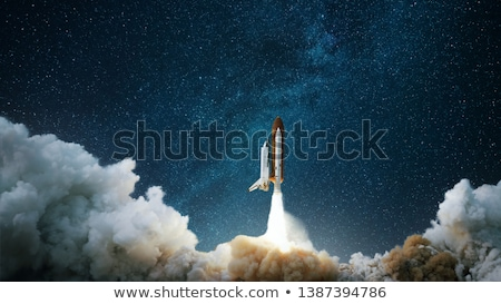 Spaceship stock photo © carbouval