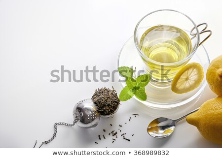 tea strainer in cup Stock photo © jirkaejc