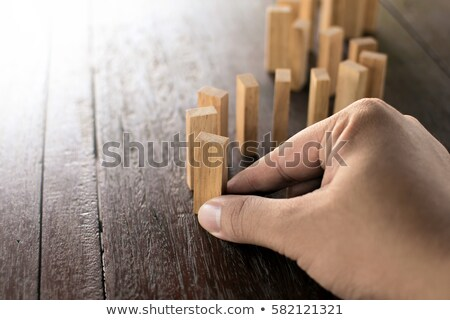 Risk Management. Vintage Background. Stock photo © tashatuvango