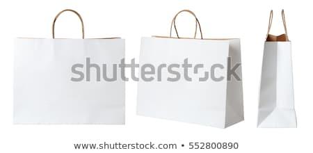 販売 · ショッピング · 紙 · ショッピングバッグ · 孤立した · 白 - ストックフォト © elnur