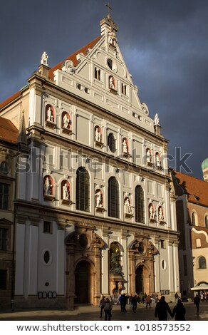 Jesuit church in Munich Stock photo © mahout