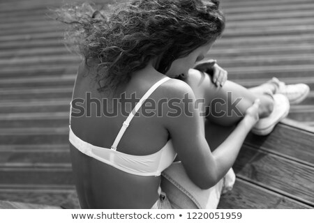 graceful woman in underclothes Stock photo © 26kot