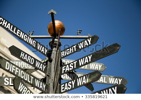 Solution Crossroad Stock photo © Lightsource