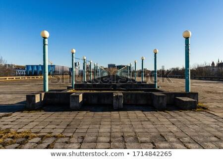 捨てられた 宮殿 スポーツ ヴィルニアス リトアニア ストックフォト © Taigi
