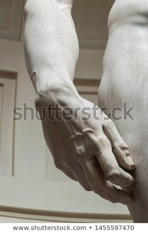 copiar · estátua · florence · Itália · parede · arquitetura - foto stock © w20er