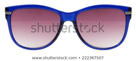 サングラス · 青 · フレーム · 赤 · 色 · レンズ - ストックフォト © keneaster1