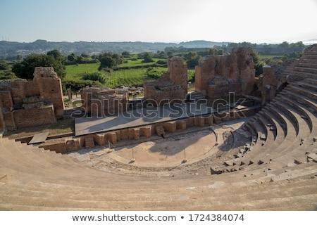 Details of Nicopolis Archeological Site Stock photo © igabriela
