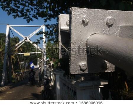 Touw staal frame ondiep Stockfoto © ultrapro