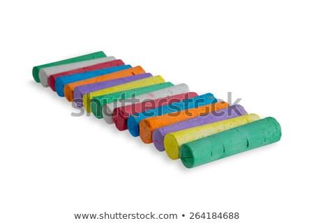 Keurig diagonaal rij gekleurd kleuren spectrum Stockfoto © ozgur