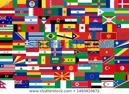 Ботсвана флаг Мир флагами коллекция текстуры Сток-фото © dicogm