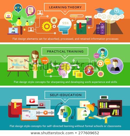 Communities of Practice. Online Working Concept. Stock photo © tashatuvango