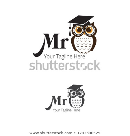 Owl- a symbol of wisdom  Stock photo © shawlinmohd