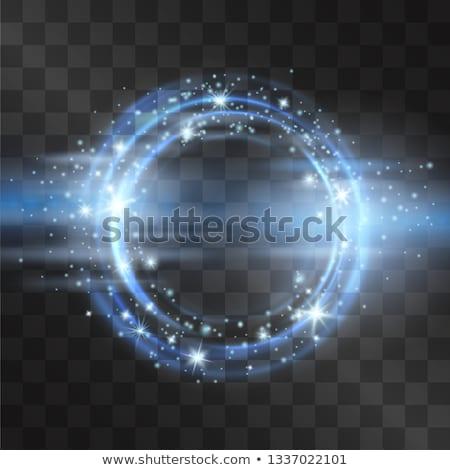 Neon uzay boşluğu bokeh doku arka plan uzay Stok fotoğraf © dnsphotography