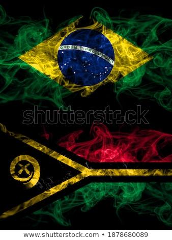 Бразилия Вануату флагами головоломки изолированный белый Сток-фото © Istanbul2009