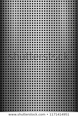 металлический полированный вектора ярко металлической текстуры искусства Сток-фото © ExpressVectors