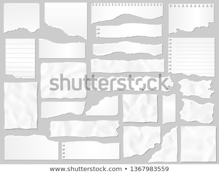 Scrap paper as copy space Stock photo © stevanovicigor