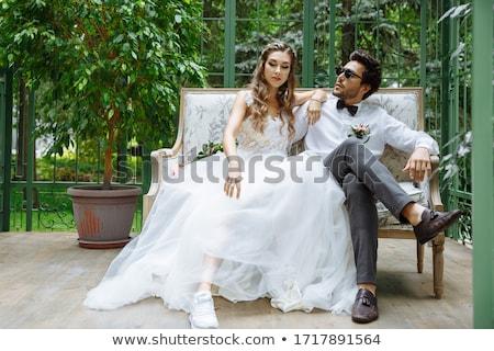 доказательство подвенечное платье женщину девушки свадьба магазин Сток-фото © adrenalina