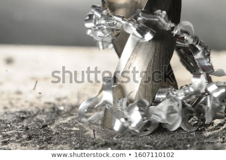 Metal shavings closeup background. Stock photo © Leonardi