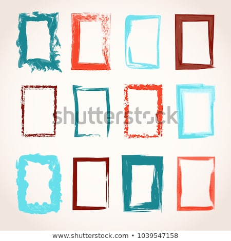 aquarel · frame · papier · abstract · ontwerp - stockfoto © shawnhempel