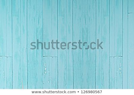 Vintage древесины двери голубой стены старое дерево Сток-фото © bank215