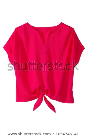 klassiek · shirt · stropdas · geïsoleerd · witte · business - stockfoto © kayros
