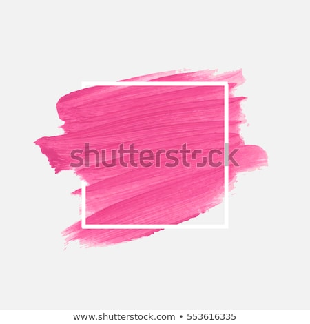 banner painted pink paint stock photo © blackmoon979
