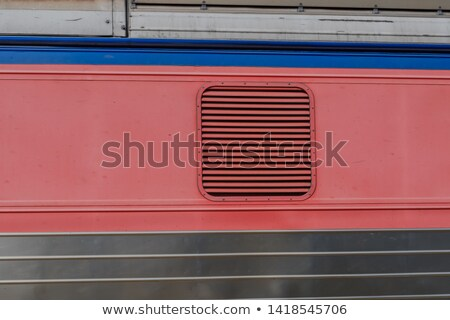 Car ventilation grille background or texture Stock photo © Arsgera