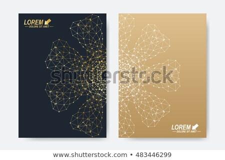 gouden · innovatie · 3D · dozen · tekst · woord - stockfoto © marinini