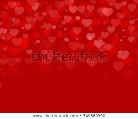 Stock photo: Background from red hearts