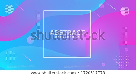 Violet vector sablon abstract curbe linii Imagine de stoc © fresh_5265954
