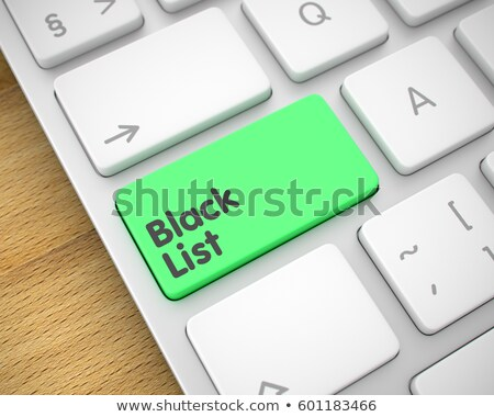 parada · clave · ordenador · teclado · compras - foto stock © tashatuvango