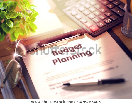 Clipboard with Assets And Liabilities Concept. 3D Illustration. Stock photo © tashatuvango