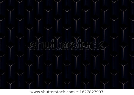 vector seamless pattern design with golden geometric lines mode stock photo © bluelela