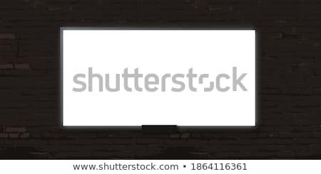 Presentation on the White Brickwall. Stock photo © tashatuvango